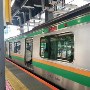渋谷駅まで帰ってきました。(2021/07/12)