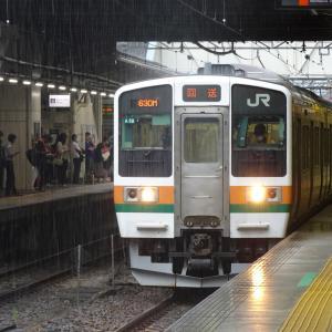 前橋駅にて撮り鉄なのだ!! (2021/07/11)