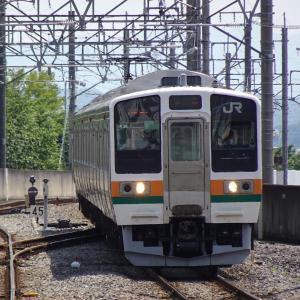 前橋駅にて撮り鉄なのだ!! (2021/07/12)
