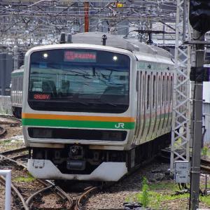 高崎駅にて撮り鉄なのだ!! (2021/07/12)