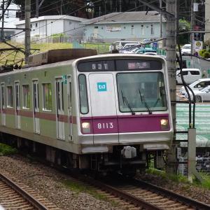 たまプラーザ駅にて撮り鉄なのだ!! (2021/07/31)