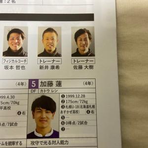 明大・DF加藤蓮選手、2022シーズンより加入でっせ!!