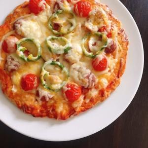 簡単ピザ♪