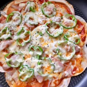 餃子の皮ピザ!