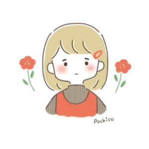 女の子とお花