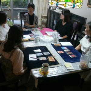 台風一過の10月13日はOSHO禅タロットリーディング練習会@和光市でした