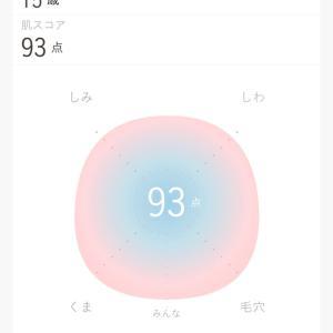 肌年齢診断アプリ。