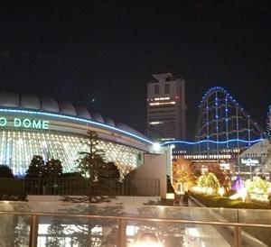 結婚記念日と合格のお祝い IN 東京ドームホテル。