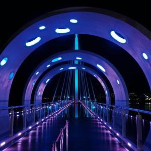 春川(チュンチョン)スカイウォークの夜景は絶景
