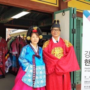 韓国伝統衣装を着て原州(ウォンジュ)を歩こう