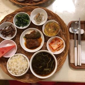 江陵(カンヌン)で頂く家庭料理は優しい味