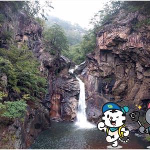 江原道鉄原(チョロン)の名画にも登場する滝
