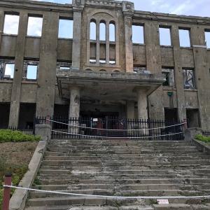 江原道鉄原(チョロン)で鉄原平野を守る建物