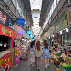 江陵(カンヌン)の市場でB級グルメを楽しみたい