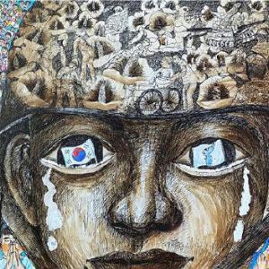 第9回DMZ学生美術公募展受賞作が展示されています