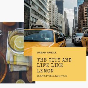 不平等を飲みこむ街と、レモンのような人生
