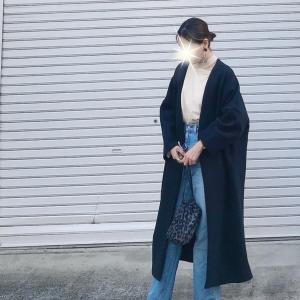 寒がりさん必見‼︎今から着ても着込んで見えないコート/緊急再販‼︎