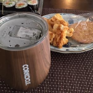 お茶の時間-Corkcicle とブルーダニューブ