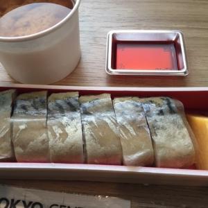 最近の日本食ーバッテラ、月山そば等々