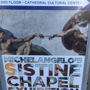ミケランジェロのスィスティーナ礼拝堂