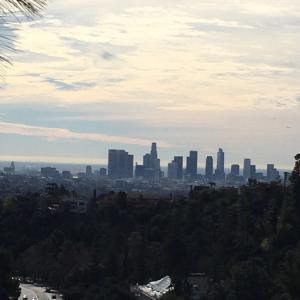 グリフィス天文台から見えるLAの景色
