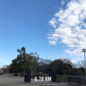 新年早々迷子ラン6.7km