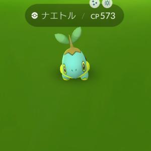 ポケモンgo色違いのナエトルGETだぜ〜