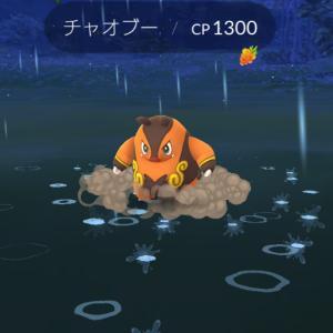 ポケモンgoチャオブーGETだぜ〜