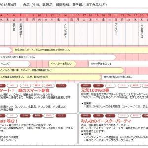 「使える販促カレンダー」2018年5月分までデータ更新しました。