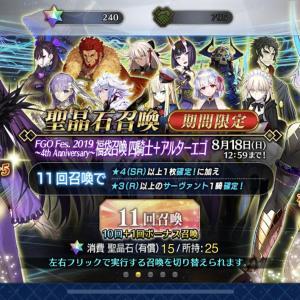 【Fate/Grand Order】4周年記念の乱(変じゃない事は察して下さい)