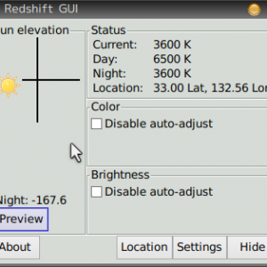 超軽量Linux:目にやさしいRedshiftを公式PuppyLinux bionicpup-8.0に導入する!-PuppyLinux tool