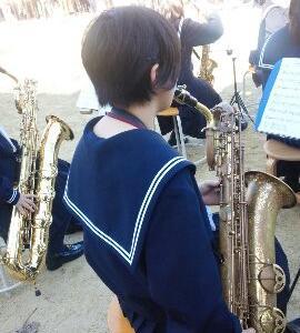 娘の吹奏楽ステージ