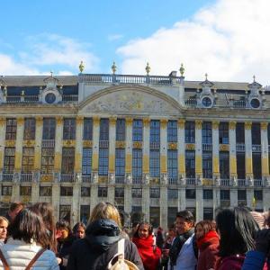 ブラバン公爵の館 Maison des Ducs de Brabant 【世界遺産】ブリュッセルのグラン・プラス 地図 東側面 名声 隠遁者 運命 現在は・・・?