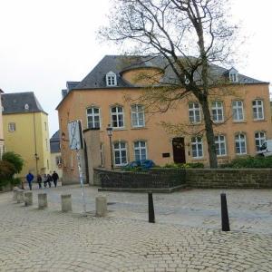 クレールフォンテーヌ広場 シャルロット女大公像 シャルロット・・・とは? ルクセンブルク旧市街を散策♫ ユネスコの世界文化遺産