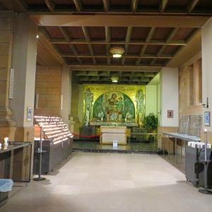 ルクセンブルク【世界遺産】ノートルダム大聖堂 内部 お写真が多いです! Kathedral Notre-Dame 美しいステンドグラス