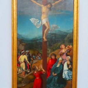 グルーニング美術館 Groening Museum 展示室 NO.2 Fry Carlos, Crucifixion 1520
