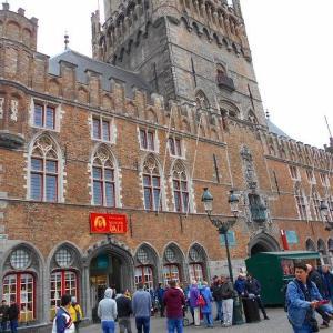 【世界遺産】ベルギーとフランスの鐘楼群 Belfries of Belgium and France マルクト広場 鐘楼