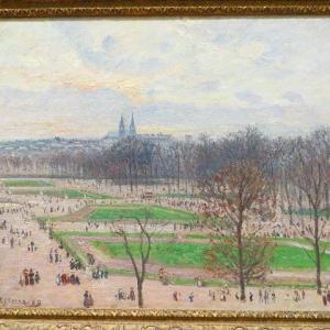 テュイルリー庭園、冬の午後に 1899年 カミーユ・ピサロ メトロポリタン美術館 テュイルリー庭園・・・とは?
