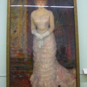 ルノワール 第4回・印象派展不参加 1879年サロン2点が入選 Pierre-Auguste Renoir ルノワールを知りたい(その9)女優ジャンヌ・サマリー シャンパンティエ夫人とその子どもたち