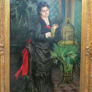 最初に「ルノワール」の影響を受けた日本人画家・・・とは? 梅原龍三郎