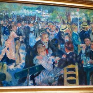 パリ・オルセー美術館 ムーラン・ド・ラ・ギャレットの舞踏会 Bal du moulin de la Galette オーギュスト・ルノワール ♪どこまでも純粋に楽しさを表現した作品のひとつ♪