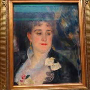 Renoir ルノワール ジョルジュ・シャルパンティエ夫人 1876年〜1877年頃 パリ・オルセー美術館