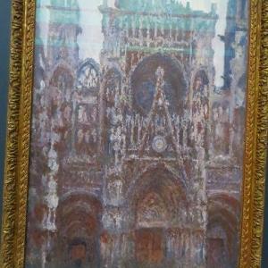 ルーアン大聖堂 1892年〜1894年 クロード・モネ 連作 ルーアン大聖堂 正面から見た扉口 ファサード サン=ロマン塔 アルバーヌ塔 モネの親友クレマンソー・・・とは誰?