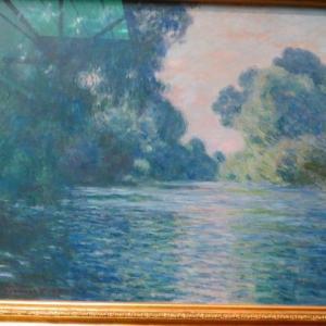 モネ Claude Monet 1896年〜1898年  連作 セーヌ川の朝 ジヴェルニー近郊のセーヌ川の朝 ジョルジュ・プティ画廊 ジャンとブランシュの結婚