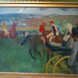 ドガ 競馬場 アマチュアの騎手たち 1876年〜1887年 パリ オルセー美術館 Le Champ de courses