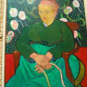 ゴッホ 子守唄 ルーラン夫人ゆりかごを揺らす女 1889年 5点 子守するルーラン夫人 メトロポリタン美術館 クレラー・ミュラー美術館 ボストン美術館
