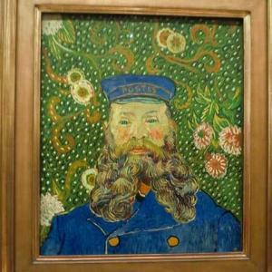 ゴッホ 郵便配達夫ジョセフ・ルーラン 1888年8月 ボストン美術館 1889年4月 ニューヨーク近代美術館 ジョセフ・ルーランの肖像画 オランダ・クレラー・ミュラー美術館 1889年2月〜3月