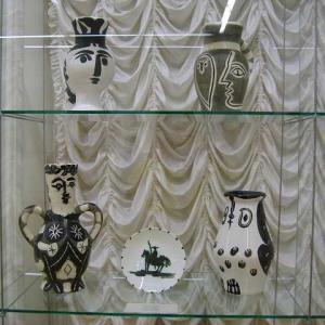 ピカソ ヴァロリス期・・・とは? 陶芸家パブロ・ピカソ 1947年〜1953年 66歳〜72歳 陶芸の町 ヴァロリス VAllauris