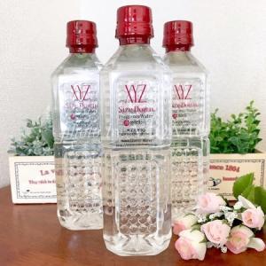 サイズダウンフレグランスウォーターローズは飲むアロマ!ダマスクローズの香りで癒されながら水分補給できるクラスター浸透水