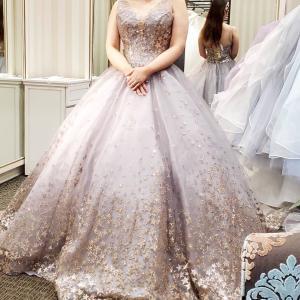 【wedding】スタードレスグレー